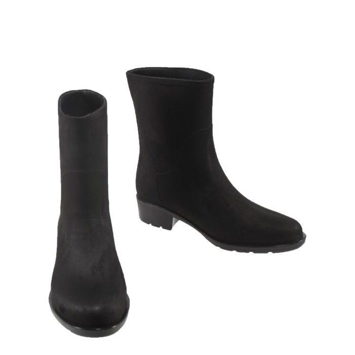 2f3e1ff48 Резиновые сапоги на каблуке 809-1-black – купить в Москве в интернет ...